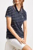 Jodie Polo Stripe Top