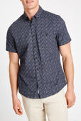 Short Sleeve Tapered York Shirt