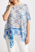 Signature Crete Silk Tile Blouse