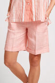 Coolum Stripe Linen Short