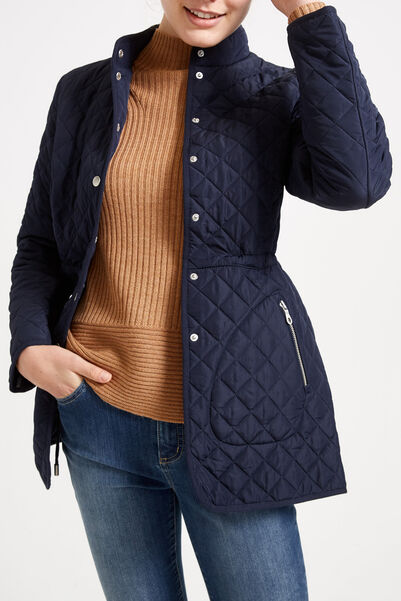 Lottie Quilted Jacket FRENCHNAVY